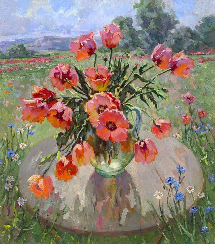 Flower Bouquet Painting Images