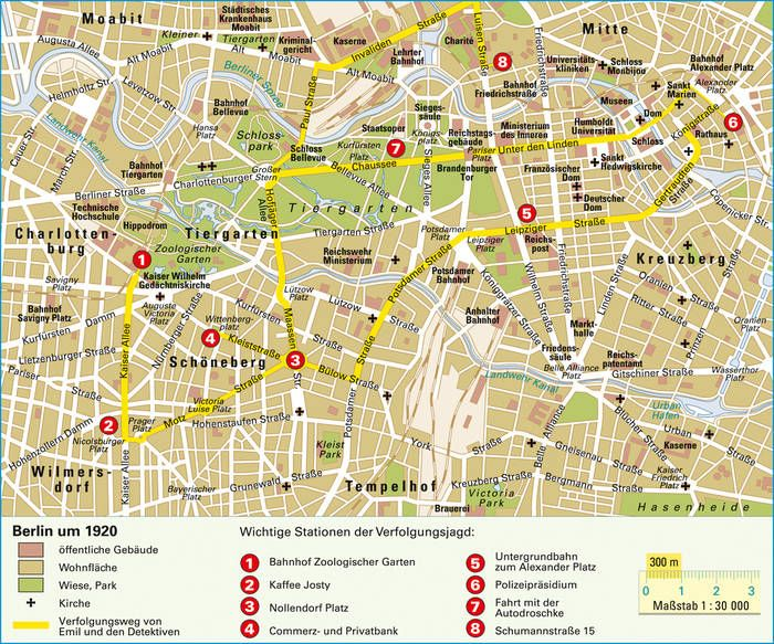 Stadtrundgange Auf Stadtplanen Planer Unterrichtsmaterial