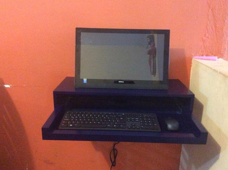 Gad otro proyecto m s finalizado mueble para computadora for Muebles para computadora