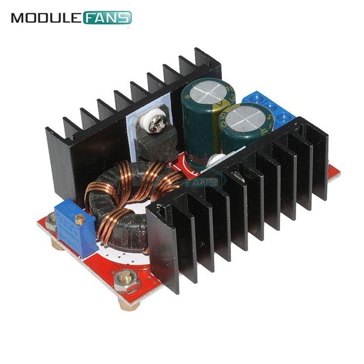 DC-DC Boost Converter DC DC Step Up Converter Module Adjustable Static Power Supply Voltage Regulator Step Up Module 150W 5V //Price: $3.29//     #shop