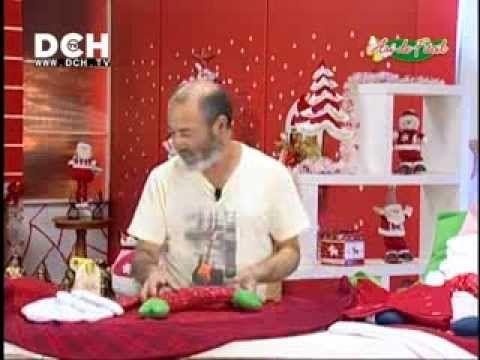 Aplicación de Santa para cojín, funda de sillas, etc - YouTube