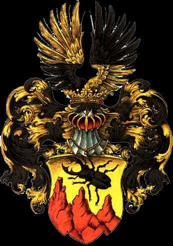Familienwappen von Keferstein / Coat of Arms of The Family (von) Keferstein / Armas de la Familia de Keferstein
