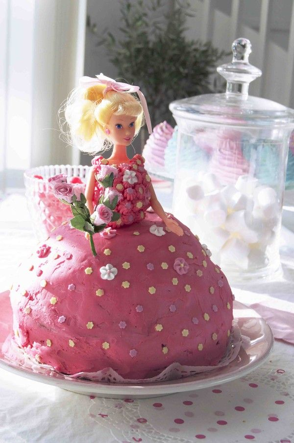 Barbie-tårta
