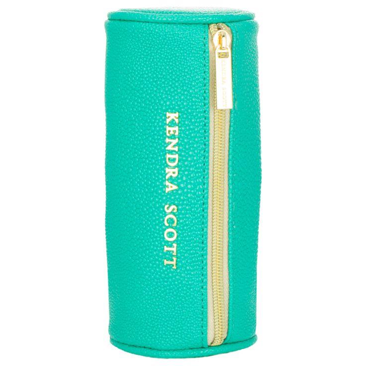 Kendra Scott The Everyday Teal Jewelry Bag found on Layla Grayce #laylagrayce #kendrascott #jewlery