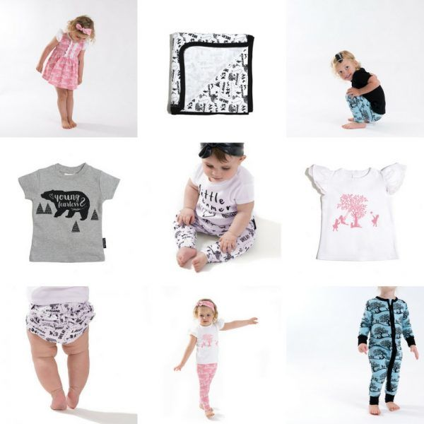 Aster & Oak organic baby clothes - Enchanted collection