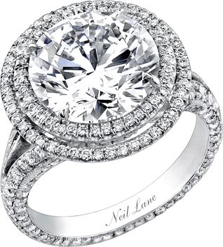 Neil Lane engagement... stunning. THIS 2 carat double halo style ring is amazing... My number ONE dream ring. <3