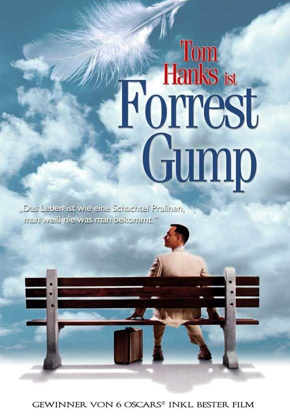 tom hanks movie posters | Forrest Gump Movie Promo Poster German Tom Hanks Robin Wright Penn ...