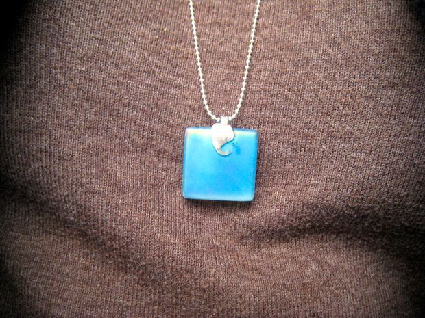 Picture of easy tile necklace