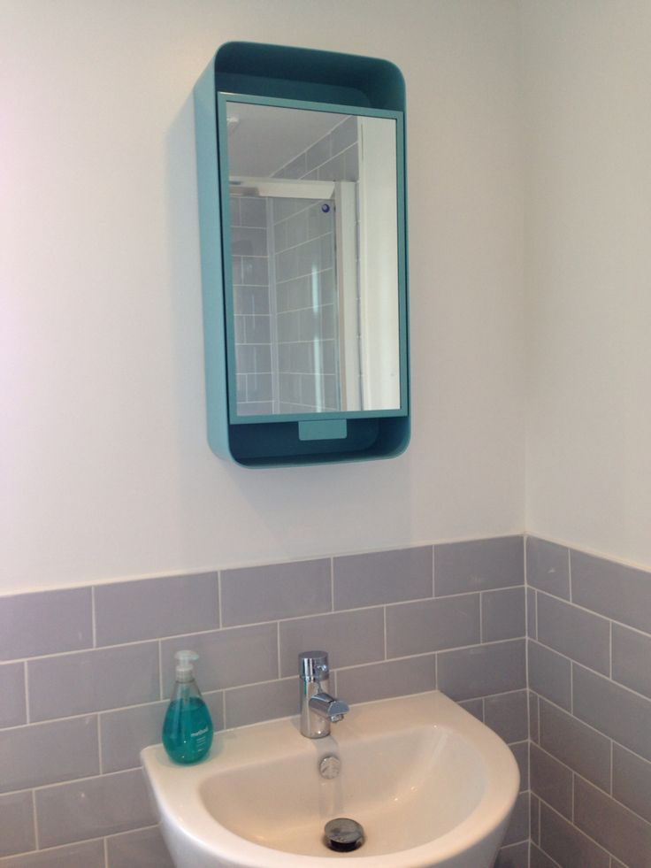 Bathroom on a budget teal bathroom cabinet grey metro for Teal and gray bathroom accessories