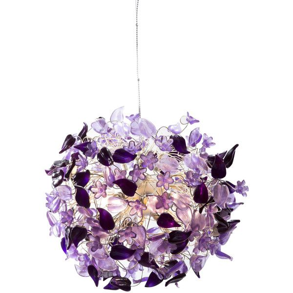 Large Purple Haze Ceiling Pendant Light ($4,800) ❤ liked on Polyvore featuring home, lighting, ceiling lights, purple pendant lights, purple pendant light, purple lamp, purple lights and purple light