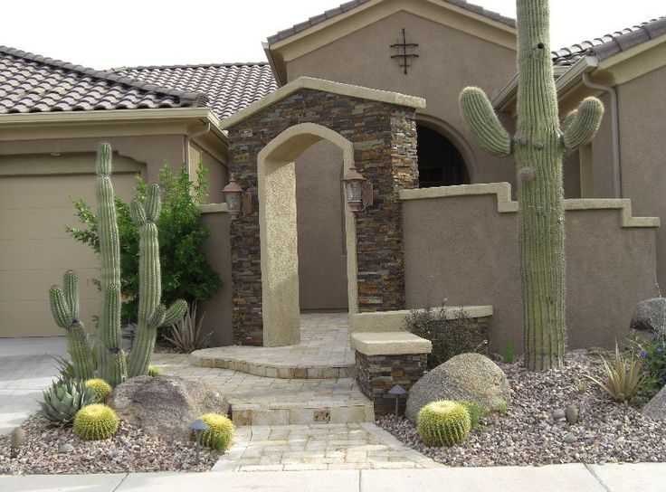 Arizona Front Yard Ideas Curb Appeal