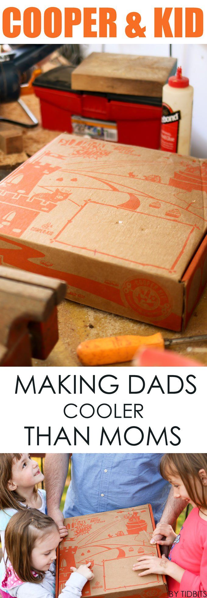 Cooper and Kid, subscription box for kids and their Dads!