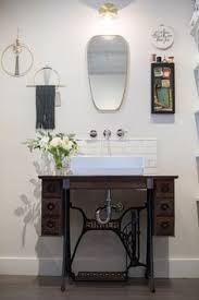 Resultado de imagen para singer sewing machine bathroom sink