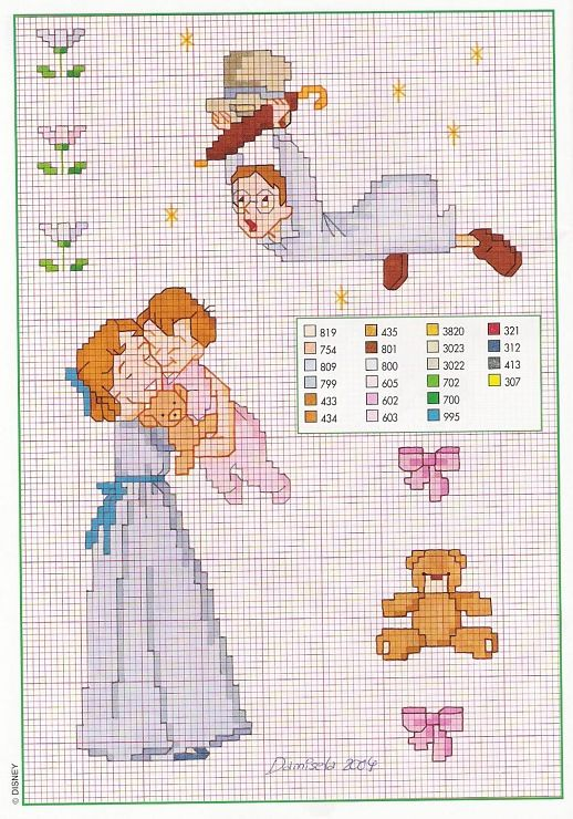 52 Best Images About Cross Stitch Peter Pan On Pinterest