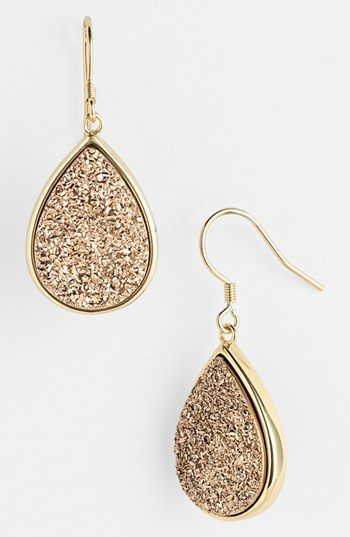 Marcia Moran Small Drusy Teardrop Earrings | Nordstrom