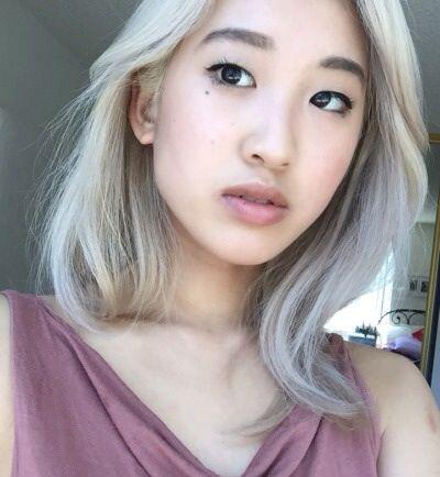 ... White Hair on Pinterest - White hair, White blonde hair and Bangs