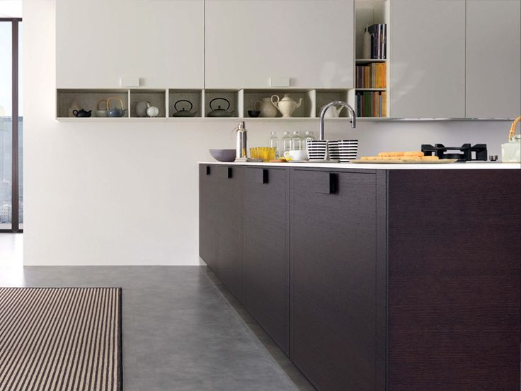 Download the catalogue and request prices of Telea By euromobil, fitted kitchen with island