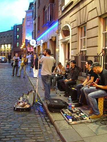 Live music, Dublin, Ireland.