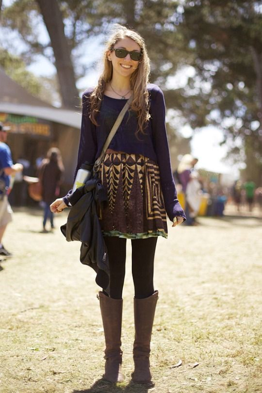 Winter Music Festival Outfit