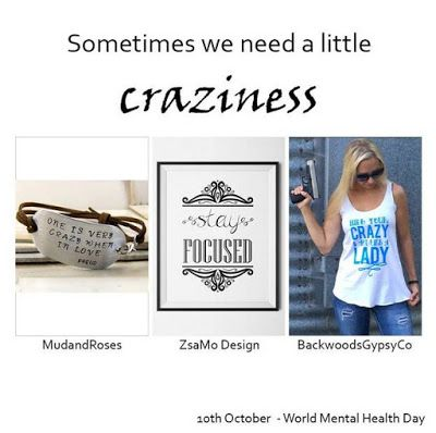 Hungarians' Etsy Team: World Mental Health Day