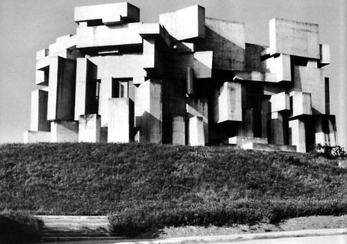 Church of the Holy Trinity, St. Georgenberg, Austria, 1965-76. (Fritz Wotruba): Brutalist Architecture, Modernist Architecture, Church, Modern Architecture, Holy Trinity, Austria