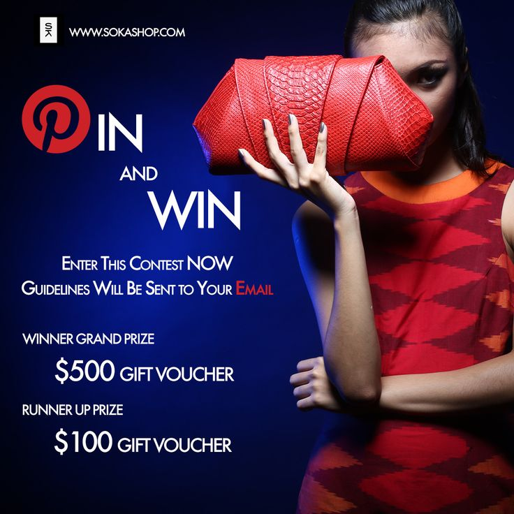 Win Grand Prize $500 on Soka's Pinterest Contest