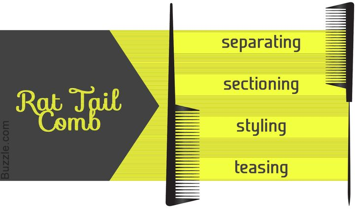 A staple in salons, rat tail comb, is one of the combs that every woman should own. This Buzzle piece covers everything you need to know about a rat tail comb.