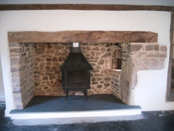 Century Inglenook Fireplace With Accompanying Bread Ovens