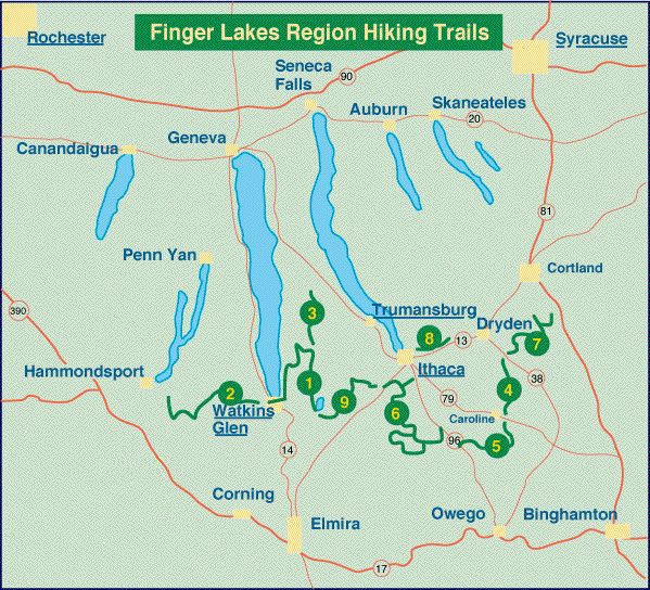 Hiking In The Finger Lakes  Finger Lakes Information -8770