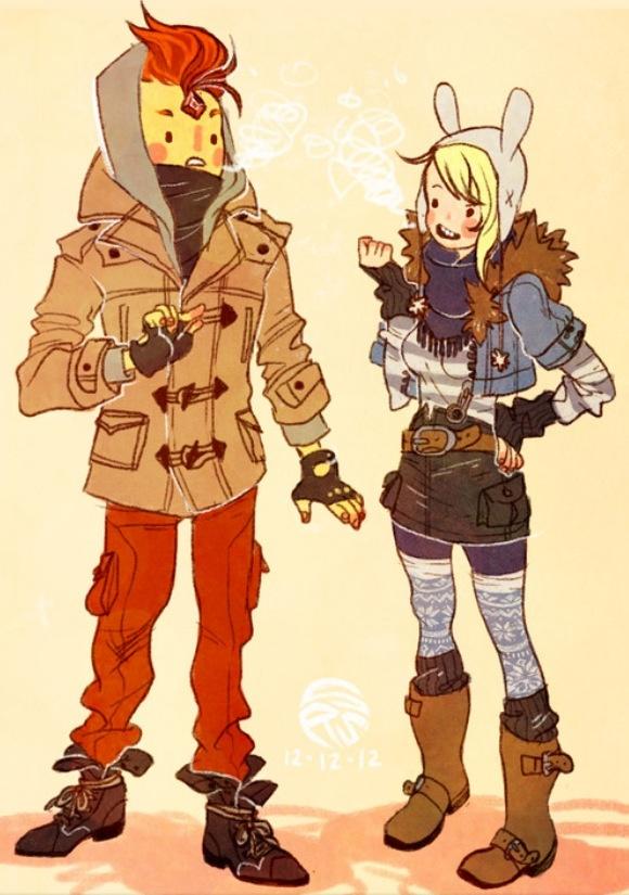 Winter Fiinna and Flame Prince