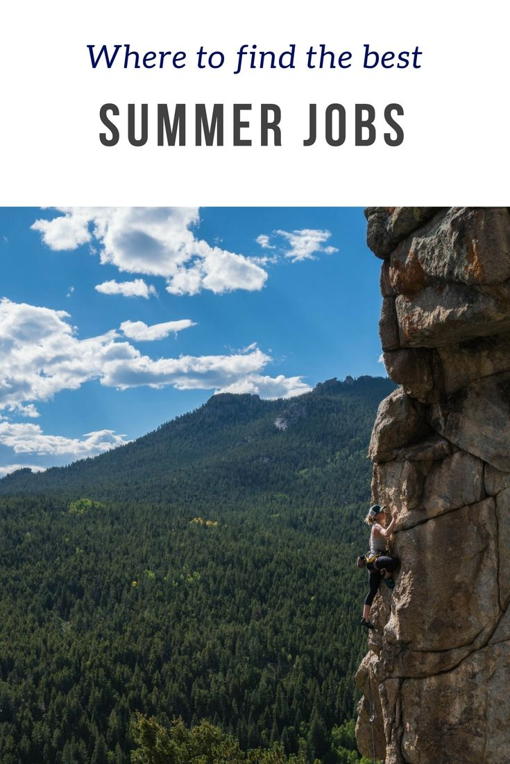 Check out the link for a list of summer jobs that will help make you the most money