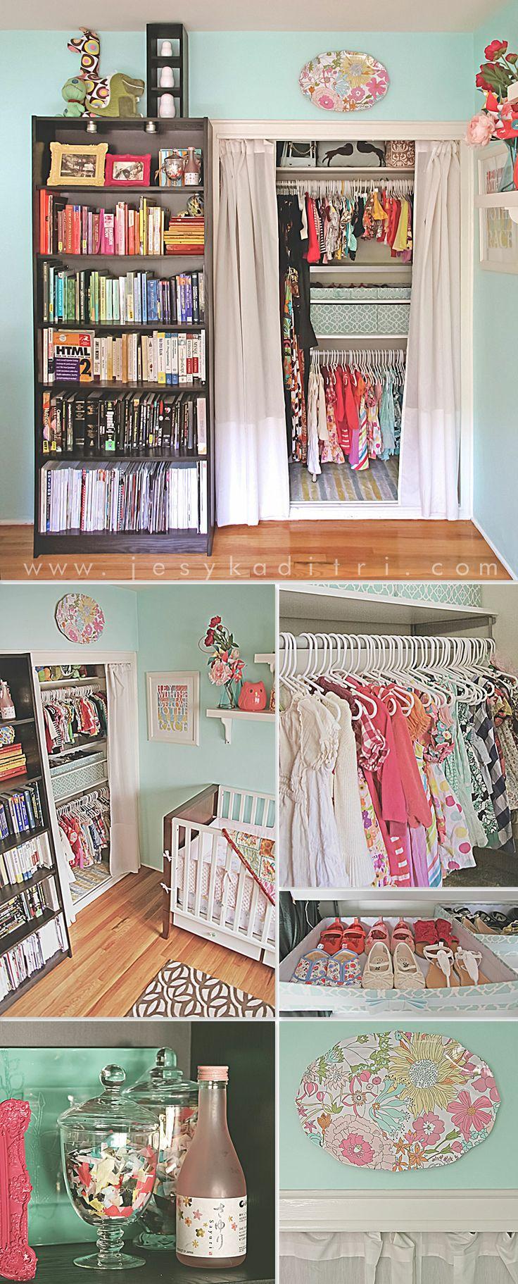 1000 Ideas About Curtain Closet On Pinterest Closet