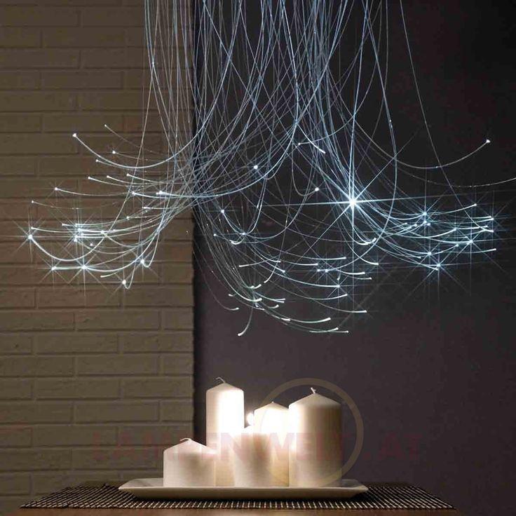 Mit dem #Lichtfaserset SkyLight100 den ganz persönlichen #Sternenhimmel zaubern - perfekt für einen romantischen Abend zu zweit!