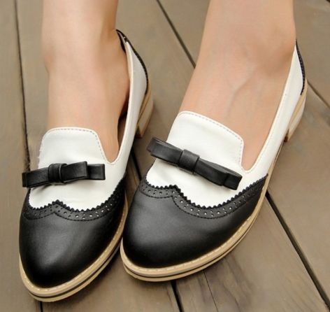 Bow Women Flats Shoes 5515
