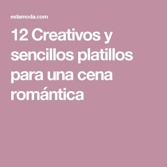 M s de 20 ideas incre bles sobre cena romantica recetas en for Platos para una cena romantica