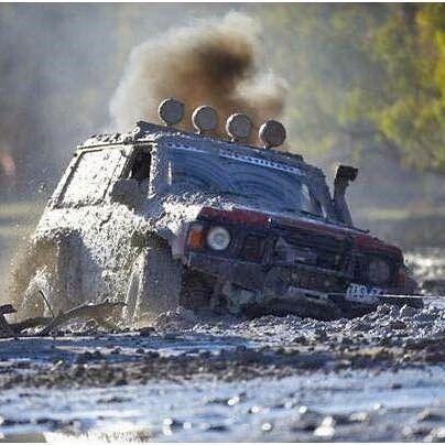 Nissan Patrol Gr Y60 mud