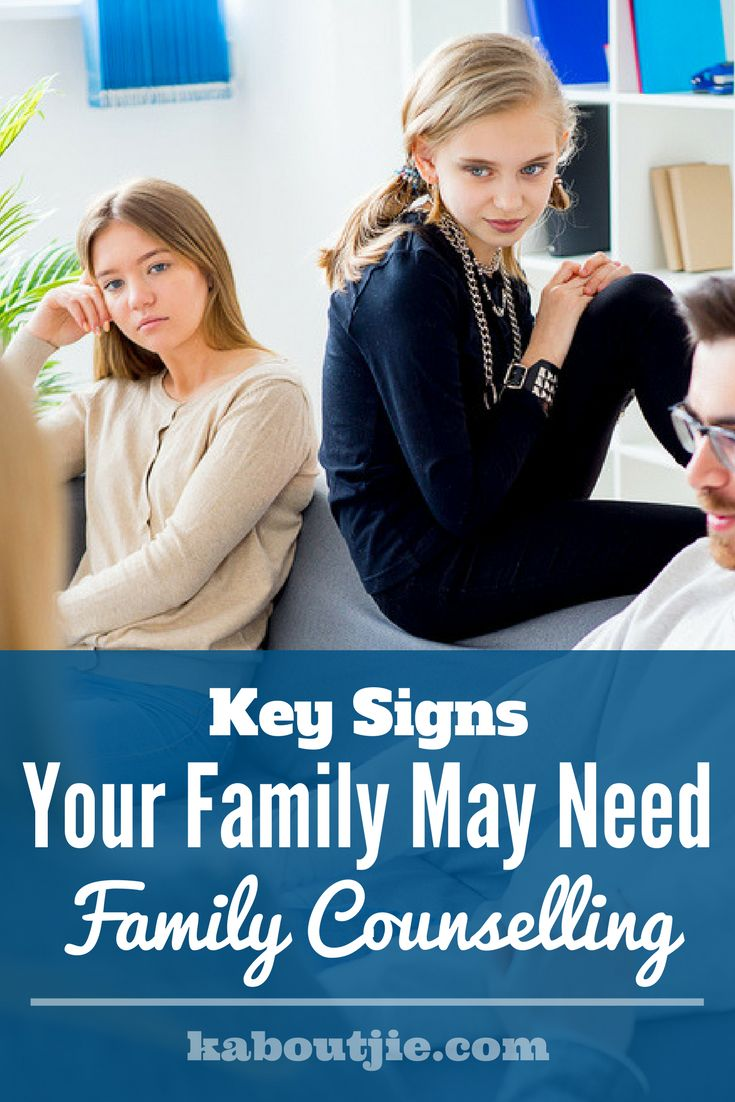 Key Signs Your Family May Need Family Counselling  Contrary to popular belief, you shouldn't sign up for family counselling only when your family members are chaotic; your family may need family counselling if these signs are already present    #guestpost #familycounselling #familytherapy #familyrelations