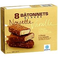 8 Bâtonnets Vanille Noisette - Picard (EMB 11069H - RetR Carcassonne) Enrobage chocolat au lait 38,3 [sucre, beurre cacao, pâte cacao, lactose, lait écrémé poudre, mat. grasse laitière, lactosérum, émulsifiants, arôme vanille], lait écrémé réhydraté, crème liquide 8%, sirop glucose-fructose, sucre, éclats noisette caramélisés 3,8% (noisette 1,9%, sucre), pâte noisette 2,7%, lait écrémé poudre, cacao poudre, émulsifiants, épaississants arôme 0,1% 400ml €2.60 €5.41/L $3.20