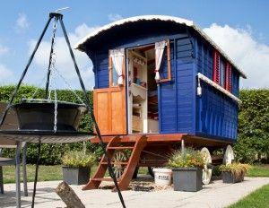 Gypsy wagon glamping, Norfolk