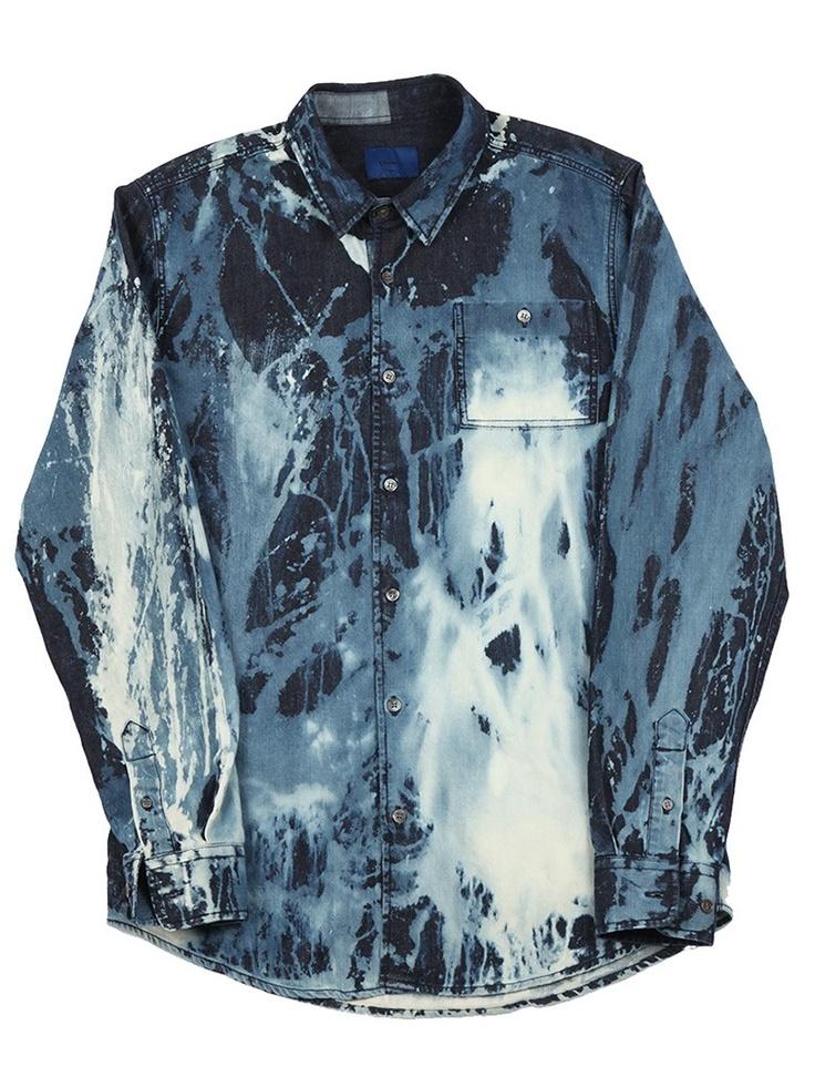 Etudes Bleach Print Denim Shirt                                                                                                                                                                                 More