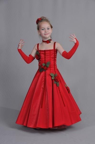 Взять на прокат детское праздничное платье