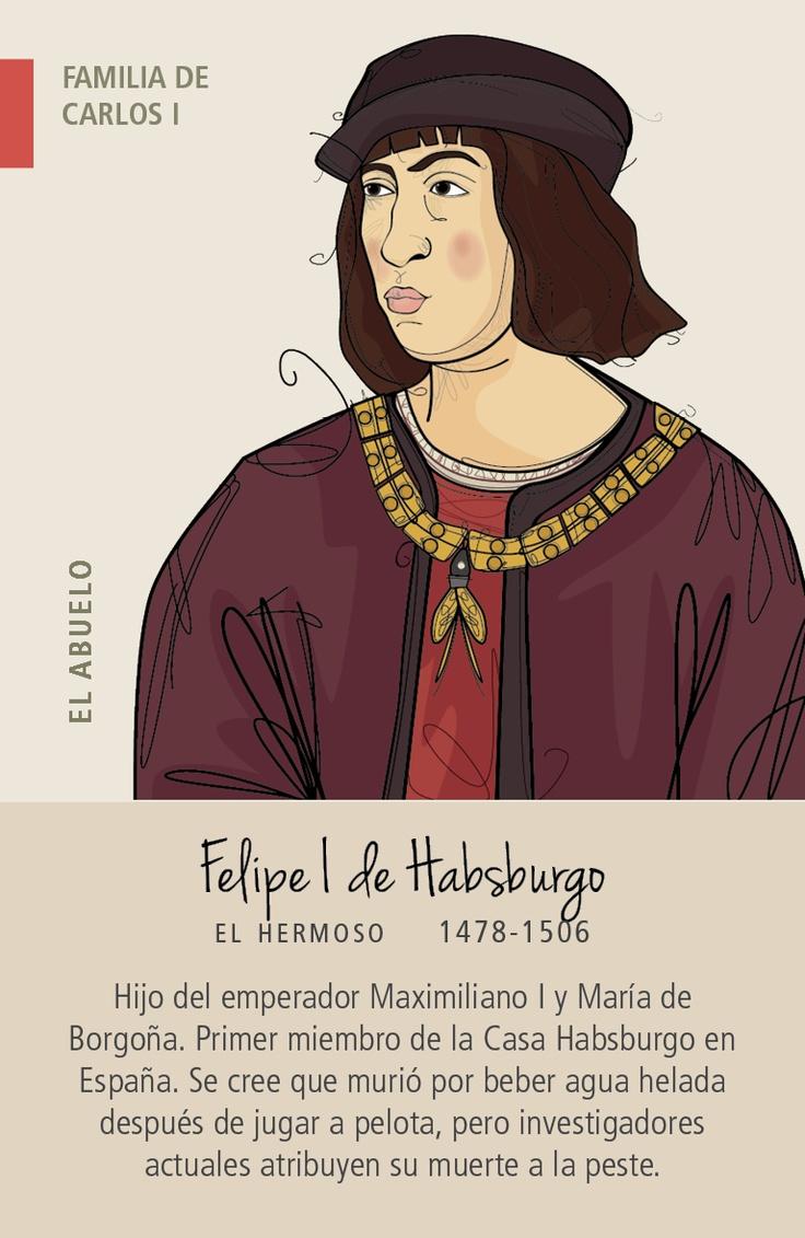 Juego de 7 familias reales de España