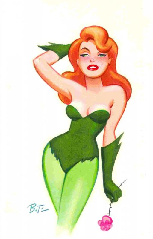 Poison Ivy by Bruce Timm -Rachel