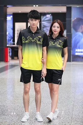 #Li-ning men's badminton/table tennis tracksuit #polyester racing #suits top+shor,  View more on the LINK: 	http://www.zeppy.io/product/gb/2/262444482441/