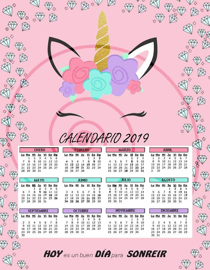 Calendario El Grafico 2019 Pdf.Te Presentamos Los Nuevos Calendarios 2019 Con Estilo De