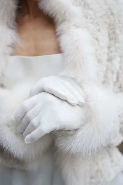 Fur & gloves. Classics. Don't buy new fur, though; only recycle the old. ~ETS