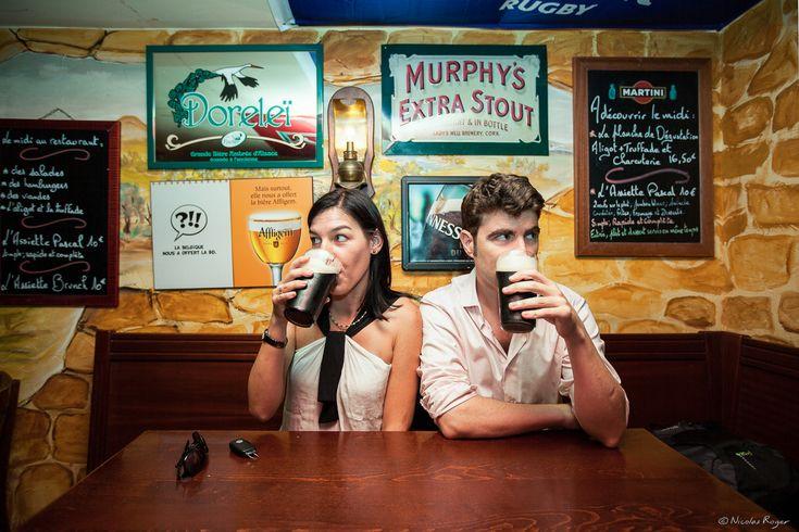portraits de couple les amoureux du pub nicolas roger photographe professionnel clermont. Black Bedroom Furniture Sets. Home Design Ideas