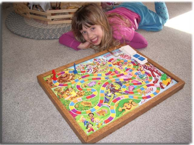 Board Game Storage Frame: Display your board games as art (and hide the game pieces behind the frame!)!
