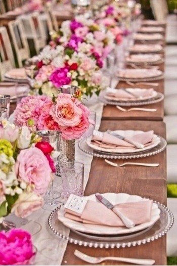Bloemen tafel