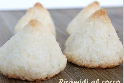 Ricetta Piramidi al cocco senza glutine in tre varianti